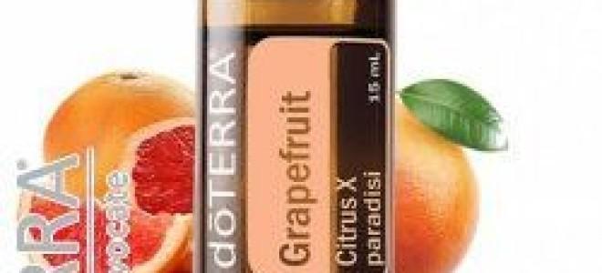 Масло грейпфрута в косметологии: польза и применение