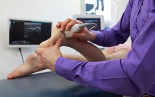 Что покажет УЗИ голеностопного сустава, как его проводят и когда назначают